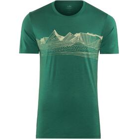 Icebreaker Tech Lite Pyrenees - T-shirt manches courtes Homme - vert